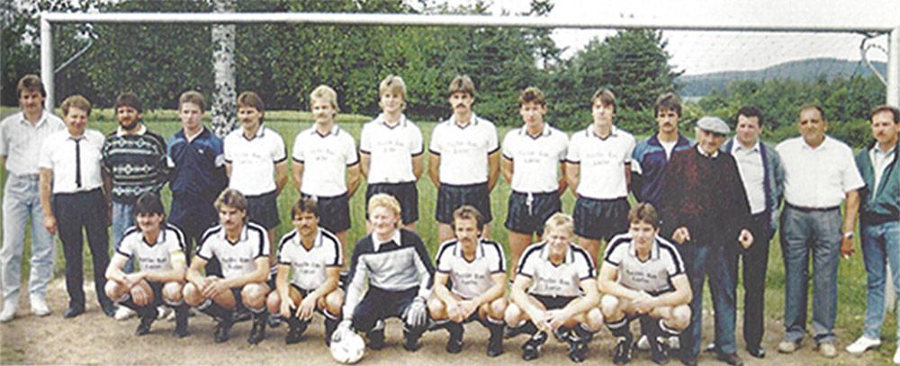 1. Mannschaft 1988 - Auftstieg in die A-Klasse