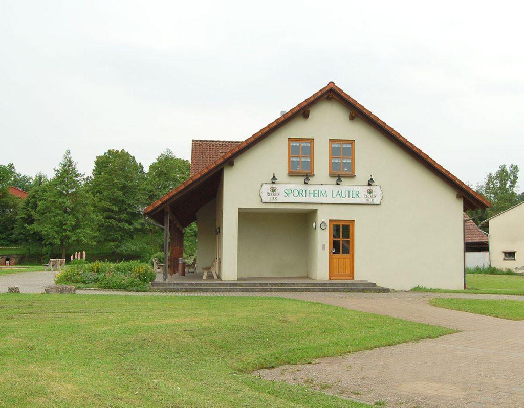 Sportheim SpVgg Lauter e.V.